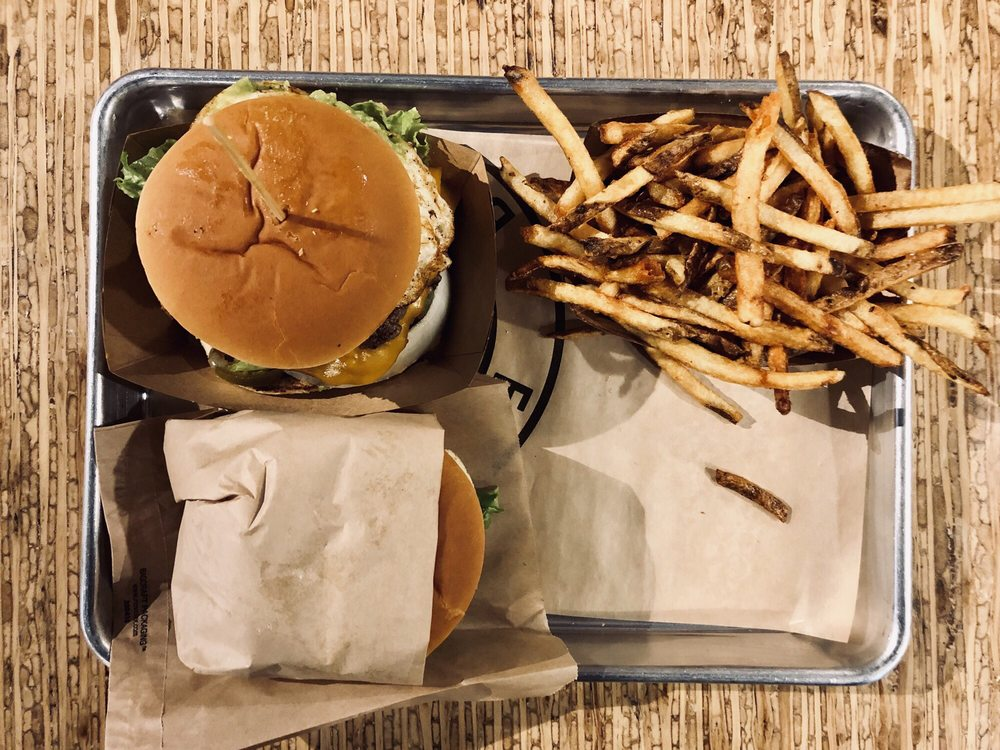 Food from Elevation Burger