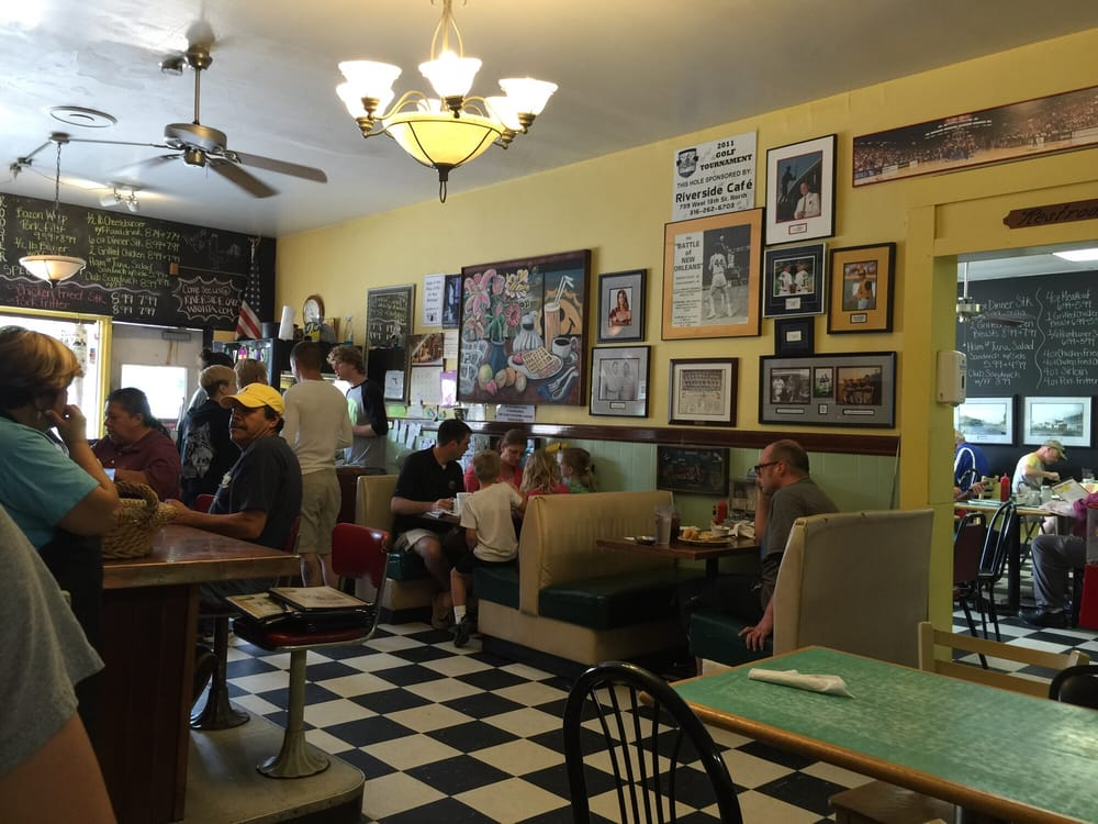 Photo Of Riverside Cafe   Wichita, KS, United States. Classy Traditional  American Diner