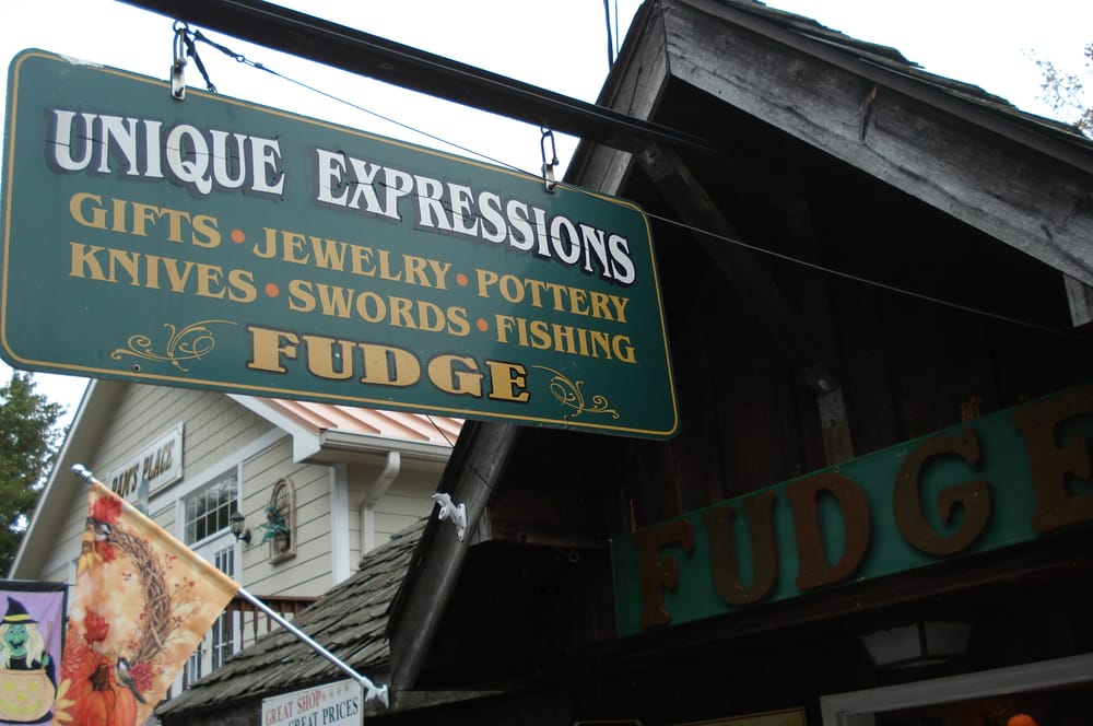Unique Expressions: 367 Main St, Chimney Rock, NC
