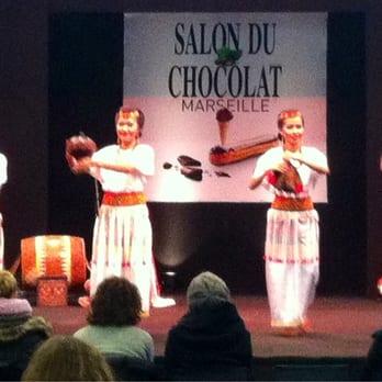 Salon du chocolat de marseille desserts parc chanot - Salon du jardin marseille ...