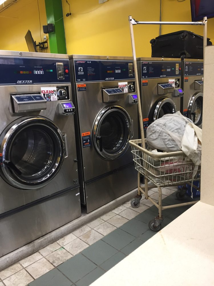 Clean City Coin Laundry: 23101 Emery Rd, Cleveland, OH