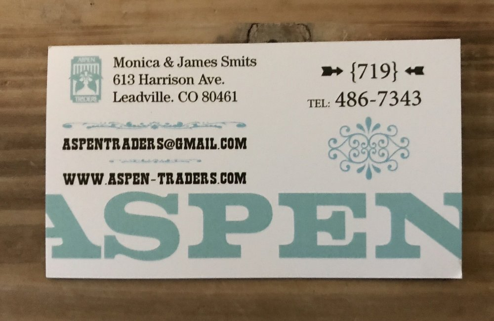 Aspen Traders: 613 Harrison Ave, Leadville, CO