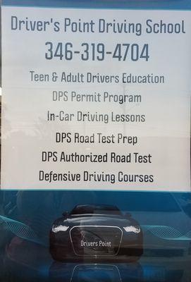 Driver's Point Driving School 11007 Fuqua St, Suite A