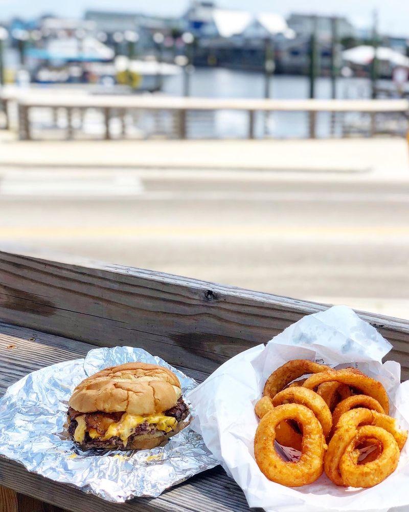 Island Burgers & Bites: 111 Carl Winner Dr, Carolina Beach, NC