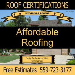 Affordable Roofing Roofing 4414 W Feemster Ave