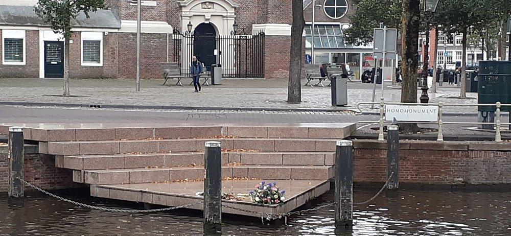 Homomonument: Westermarkt, Amsterdam, NH
