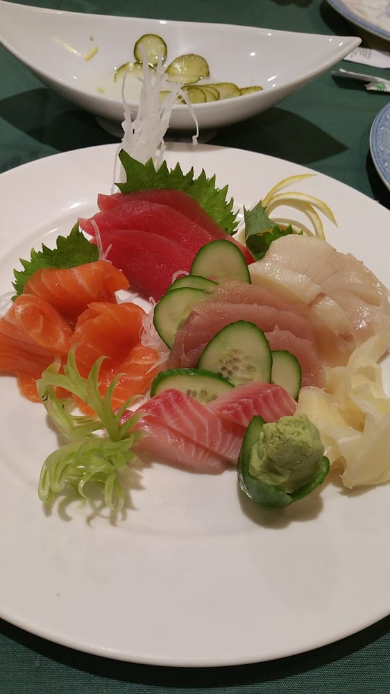Sashimi Combination Nothing Write Home About Yelp