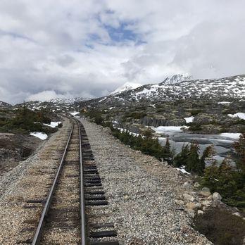 Photo Of White P Yukon Route Railroad Skagway Ak United States