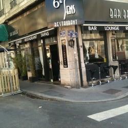 le 6 me sens frans 58 boulevard des brotteaux brotteaux lyon frankrijk reviews. Black Bedroom Furniture Sets. Home Design Ideas