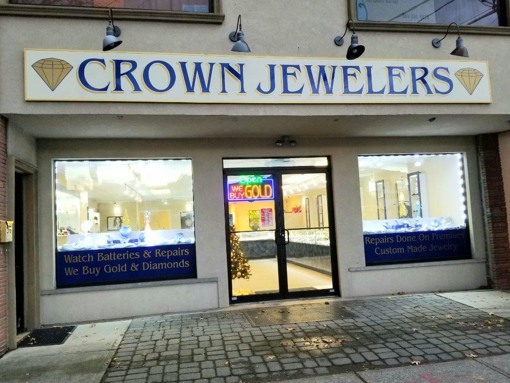 Crown Jewelers: 36 S Martine Ave, Fanwood, NJ