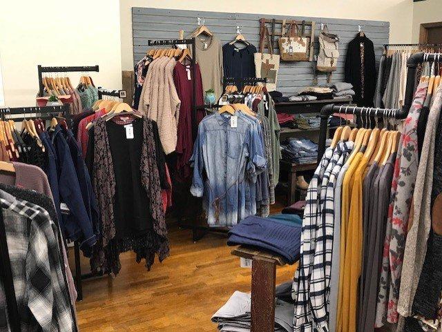 Rusty Tin Boutique: 110 S Main, McPherson, KS