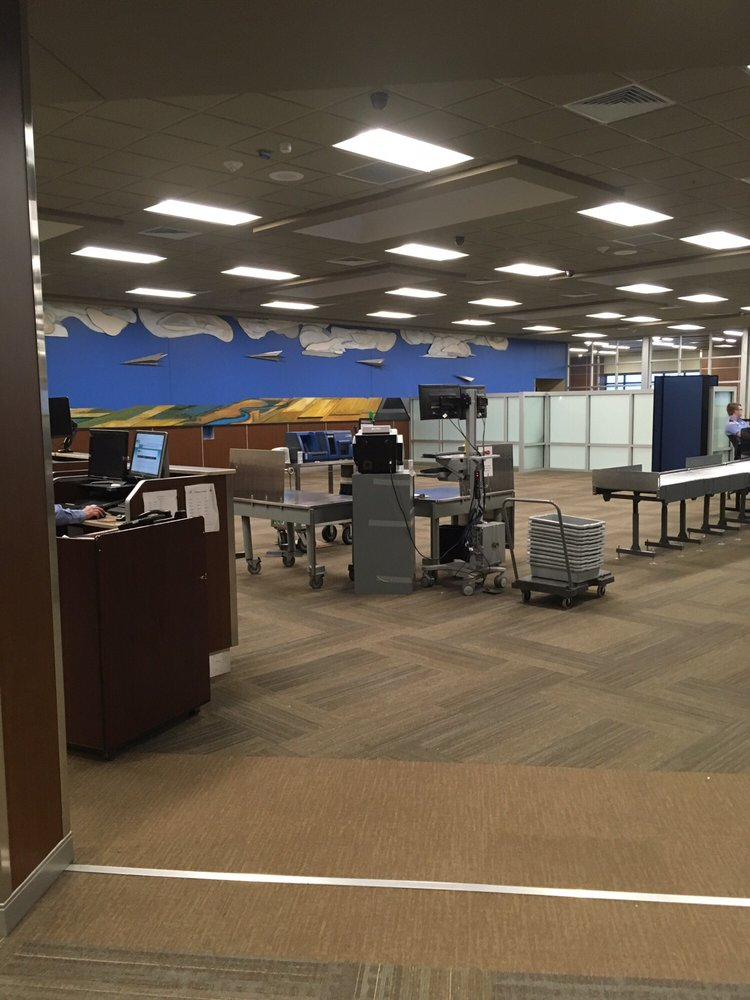 TSA Checkpoint - Joe Foss Field Airport: 2801 N Jaycee Ln, Sioux Falls, SD