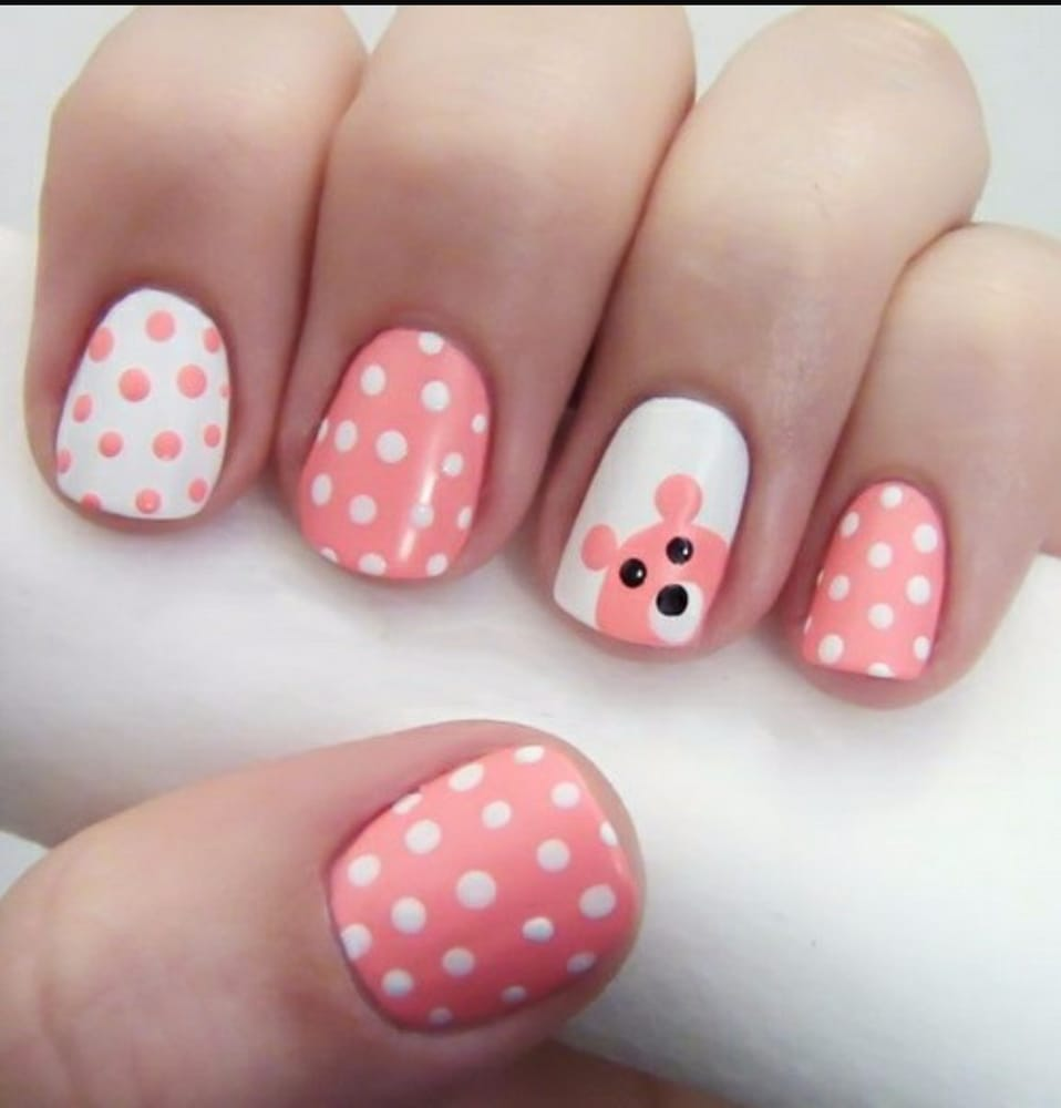 They did these nails for me and it was amazing I\'m going back ...
