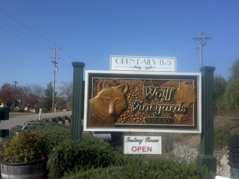 Social Spots from Wolff Vineyards