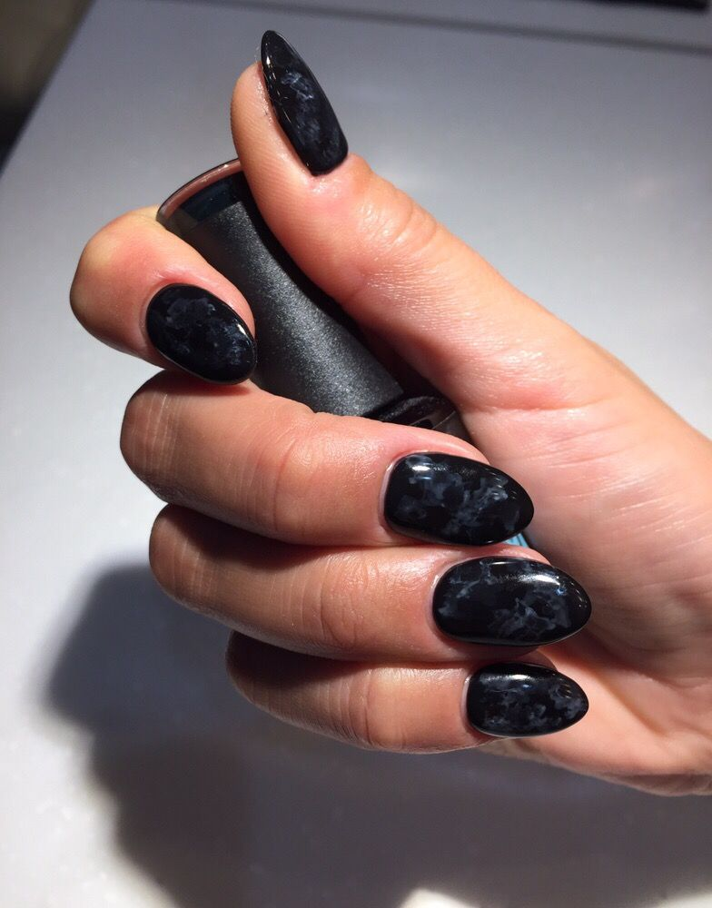 non toxic no chip black with very settle marble design! - Yelp