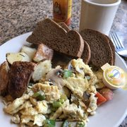 Good Quiche Of The Day Photo Of Sunroom Cafe   Madison, WI, United States.  Veggie Scrambler. With