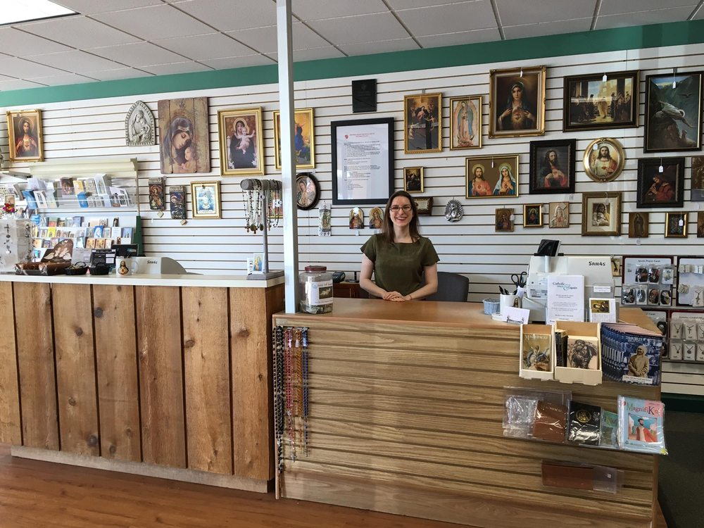 Sacred Heart Books & Gifts: 7615 Campbell Rd, Dallas, TX