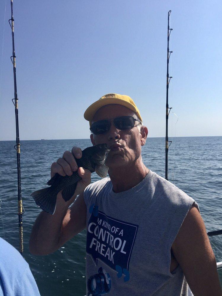 Miss Avalon Fishing