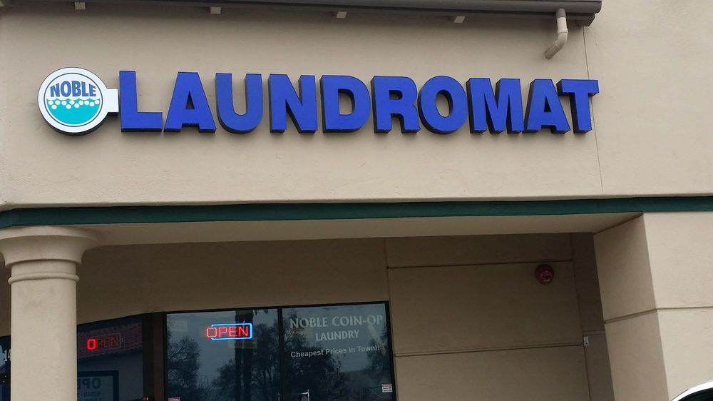 Noble Coin-op Laundromat: 1415 E Noble Ave, Visalia, CA
