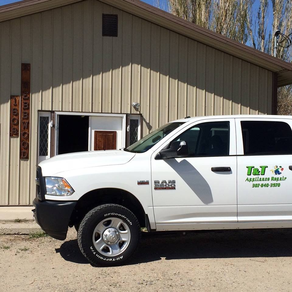 T & T Appliance Repair: 1503 Riverview Rd, Riverton, WY