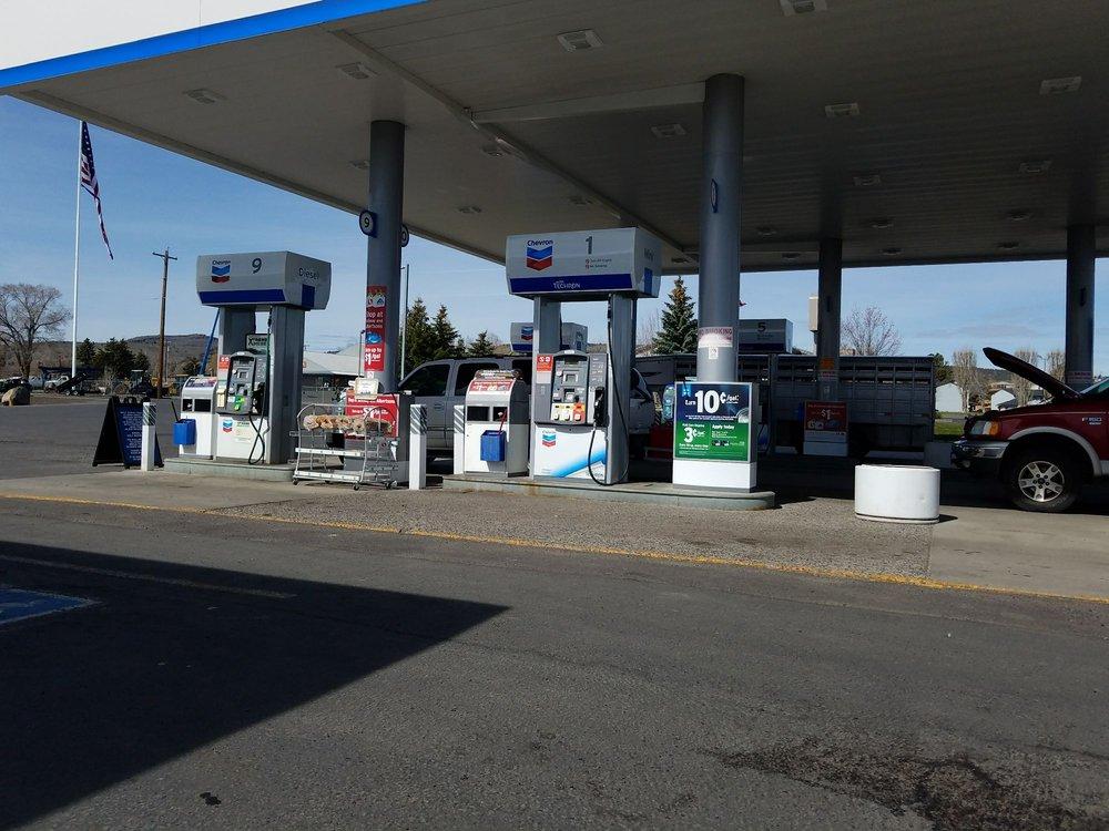 Weeks Oil Co Chevron Foodmart: 617 N Highway 20, Hines, OR