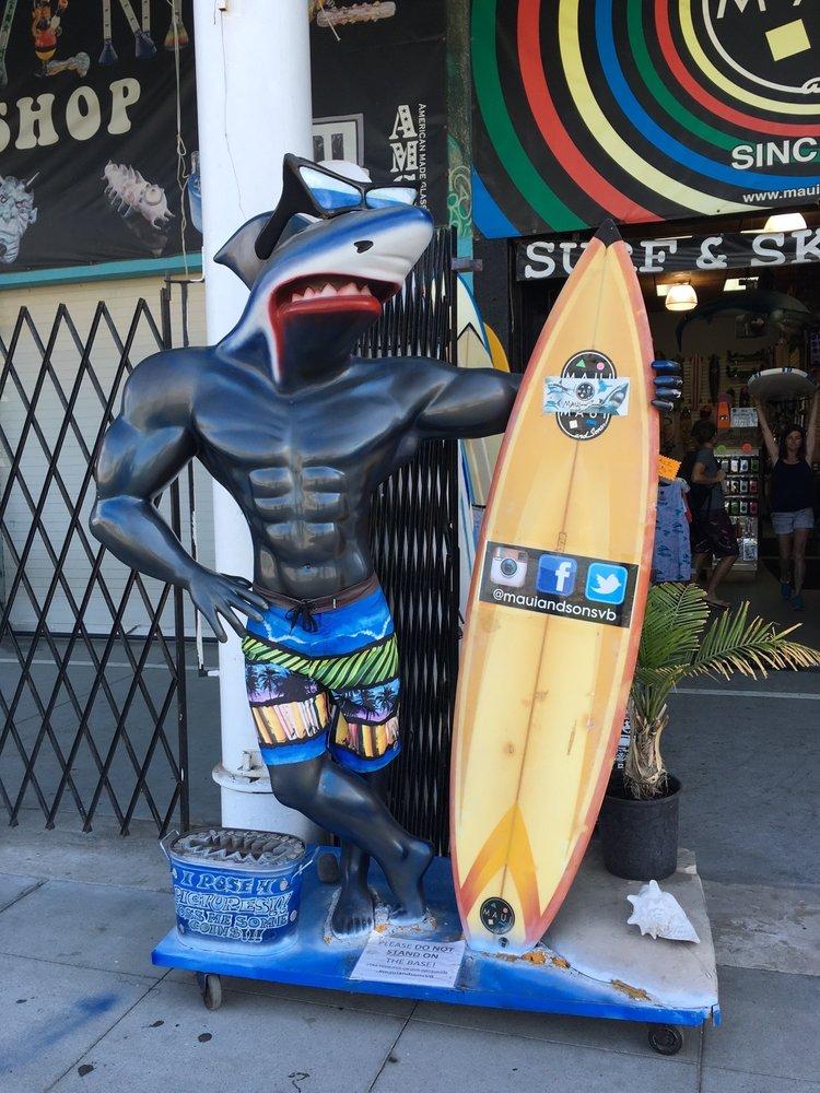 Maui & Sons: 1415 Ocean Front Walk, Venice, CA
