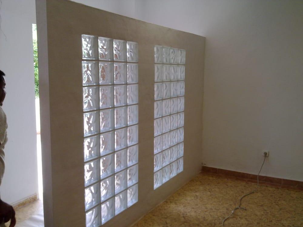 G2g construcciones obras reformas y servicios integrales - Pared de bloques de vidrio ...