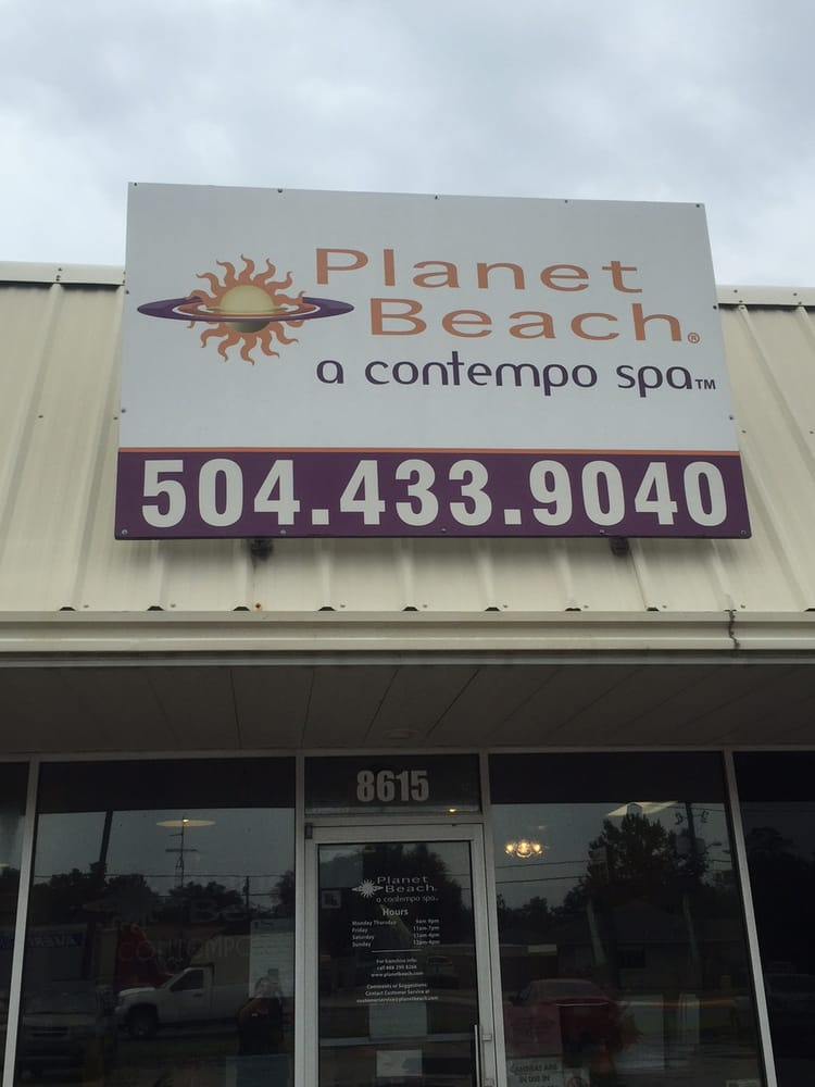 Planet Beach: 8615 Hwy 23, Belle Chasse, LA