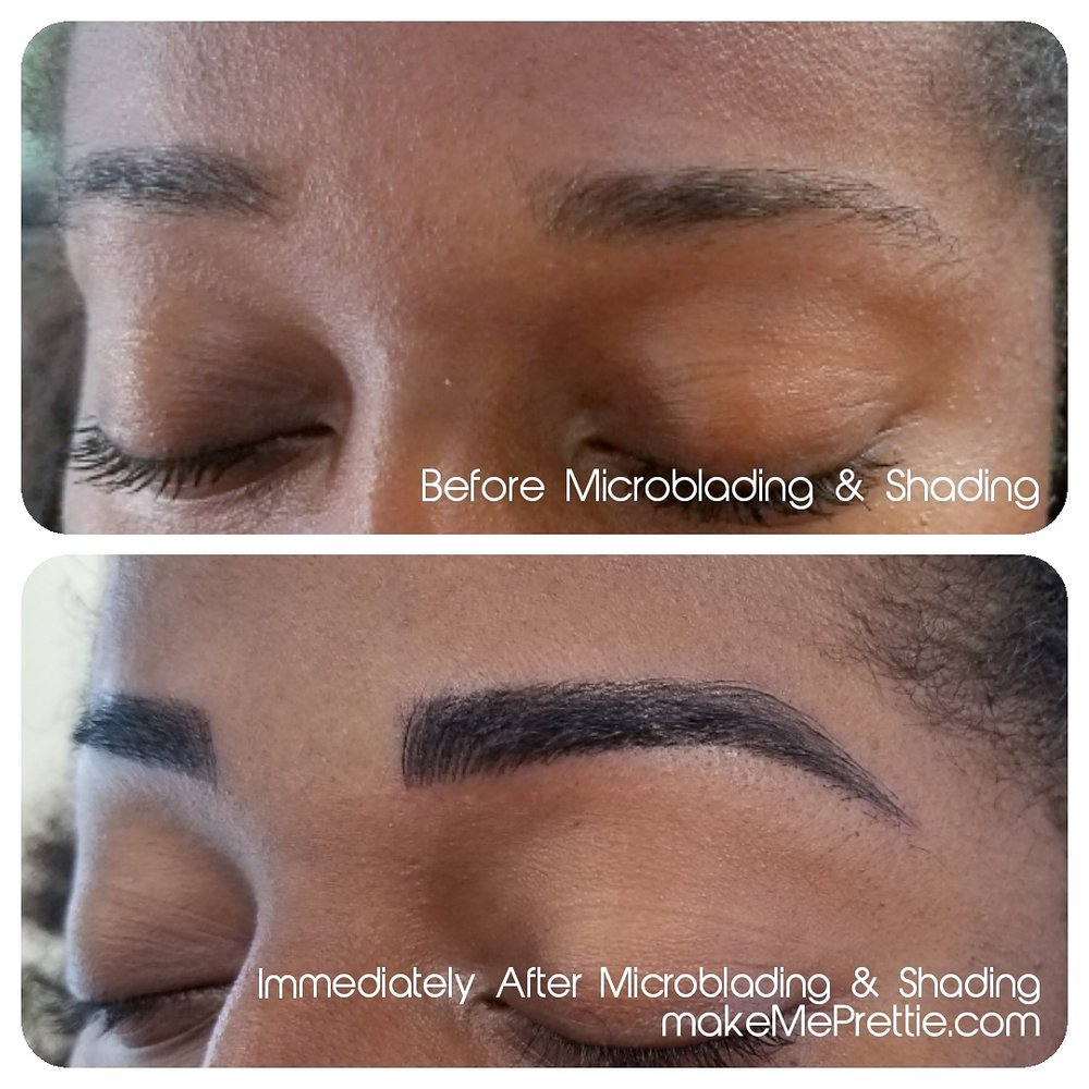 Before After Microblading La Los Angeles 3d Eyebrows 3d Tattoo Brow