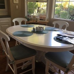 Merveilleux Photo Of Furniture Menders   Auburn, CA, United States. Refinished Dining  Set