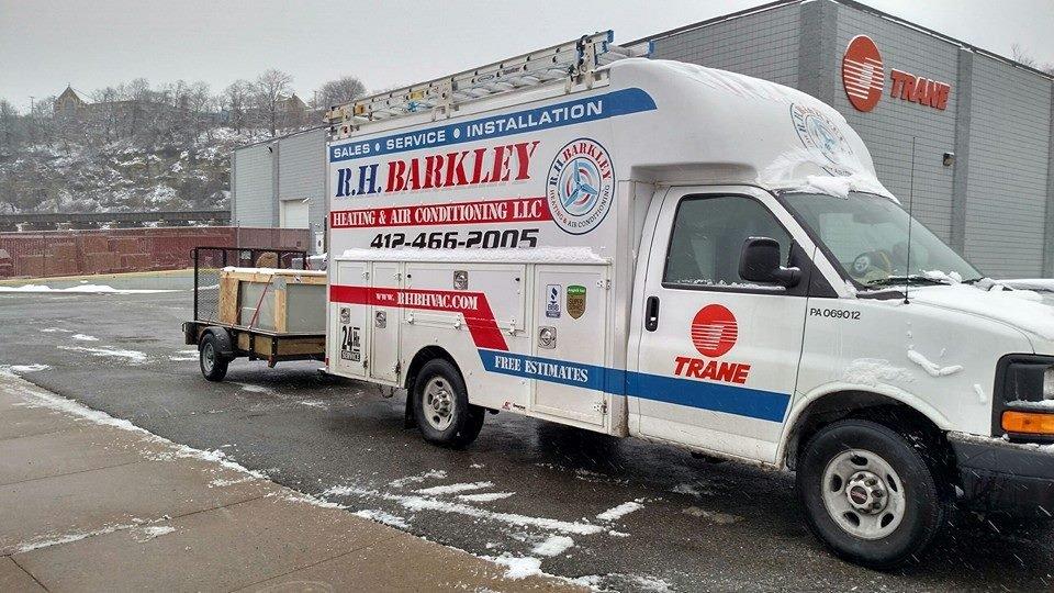 R. H. Barkley Heating & Air Conditioning: 512 Saint Clair Ave, Clairton, PA