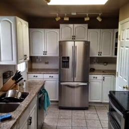 photo of painting kitchen cabinets denver denver co united states painted kitchen