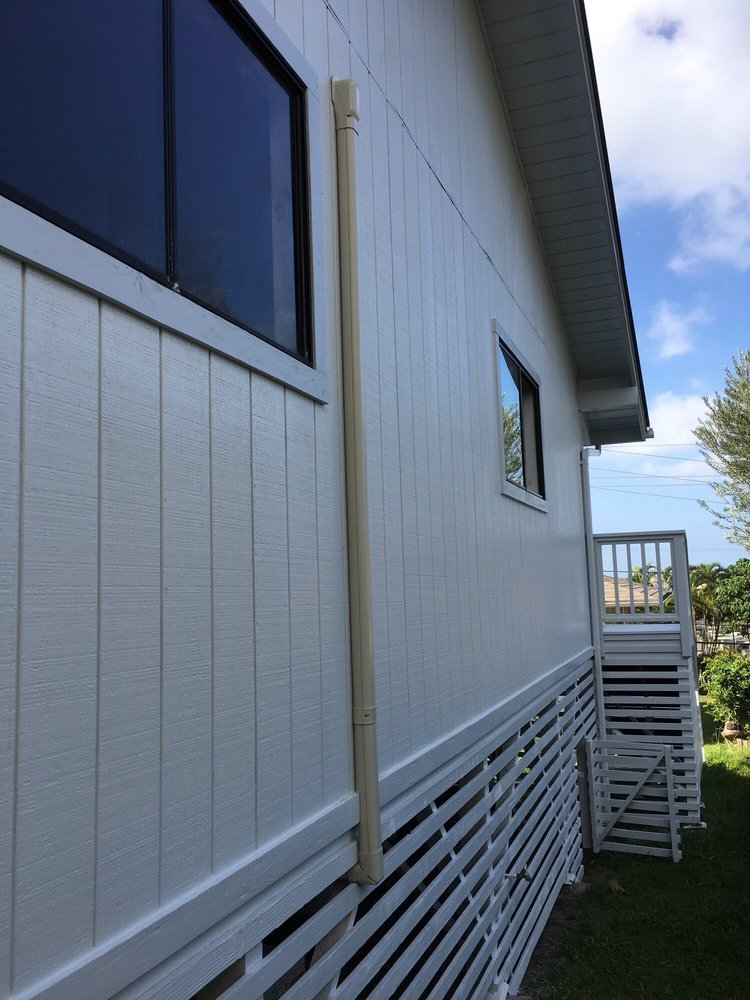 Exterior Two Coat Finish Including Roof Eaves Yelp