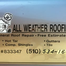 Photo Of All Weather Roofing   Oakland, CA, United States. ALL WEATHER U0027