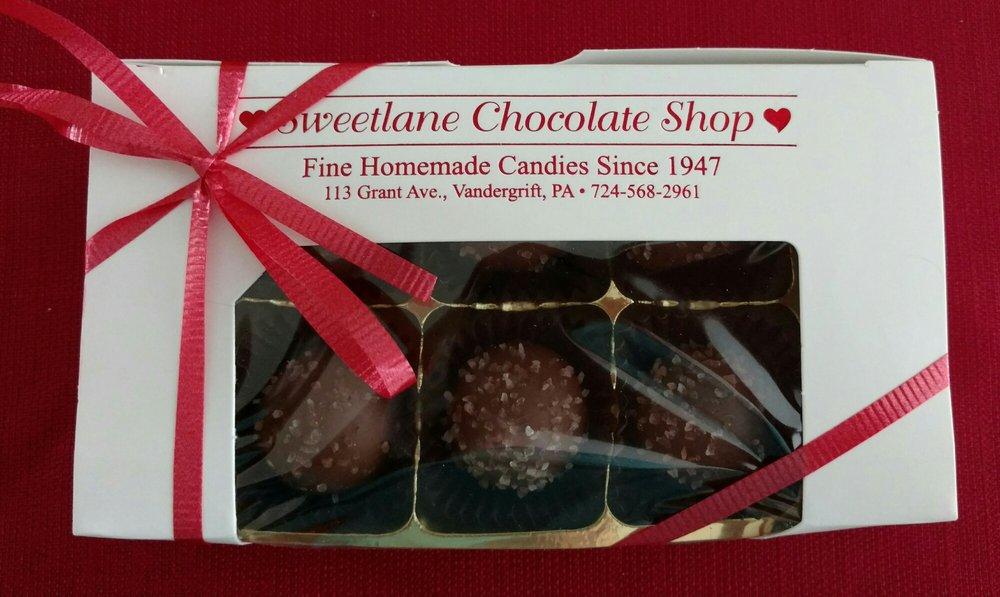 Sweetlane Chocolate Shop: 113 Grant Ave, Vandergrift, PA