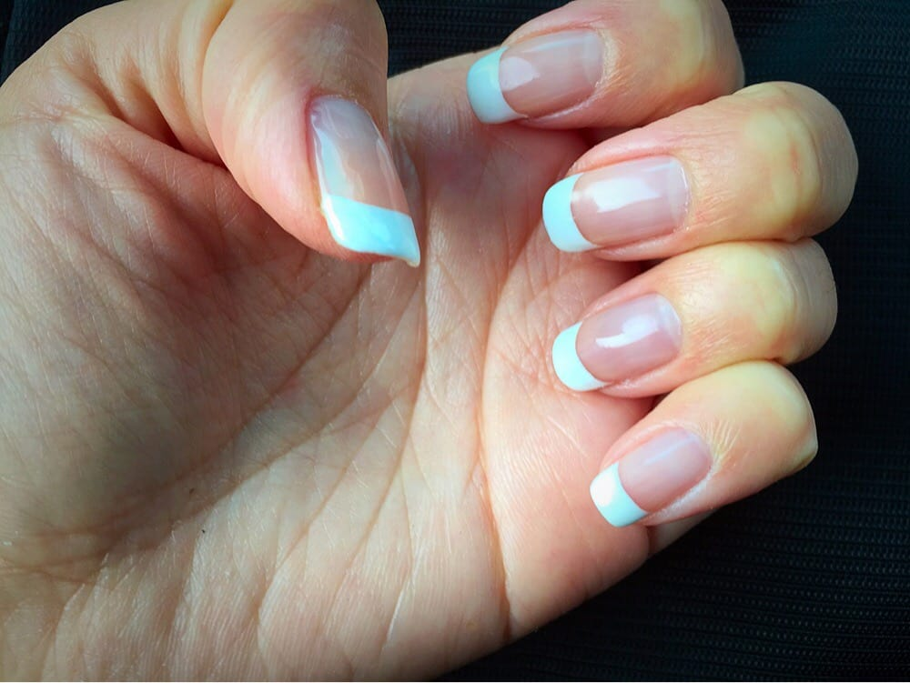 Love my shellac french mani yelp for European wax center garden city