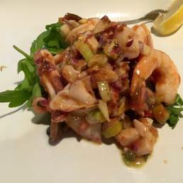 Del' Arte Ristorante - Orangeburg, NY, United States. Special spicy seafood salad