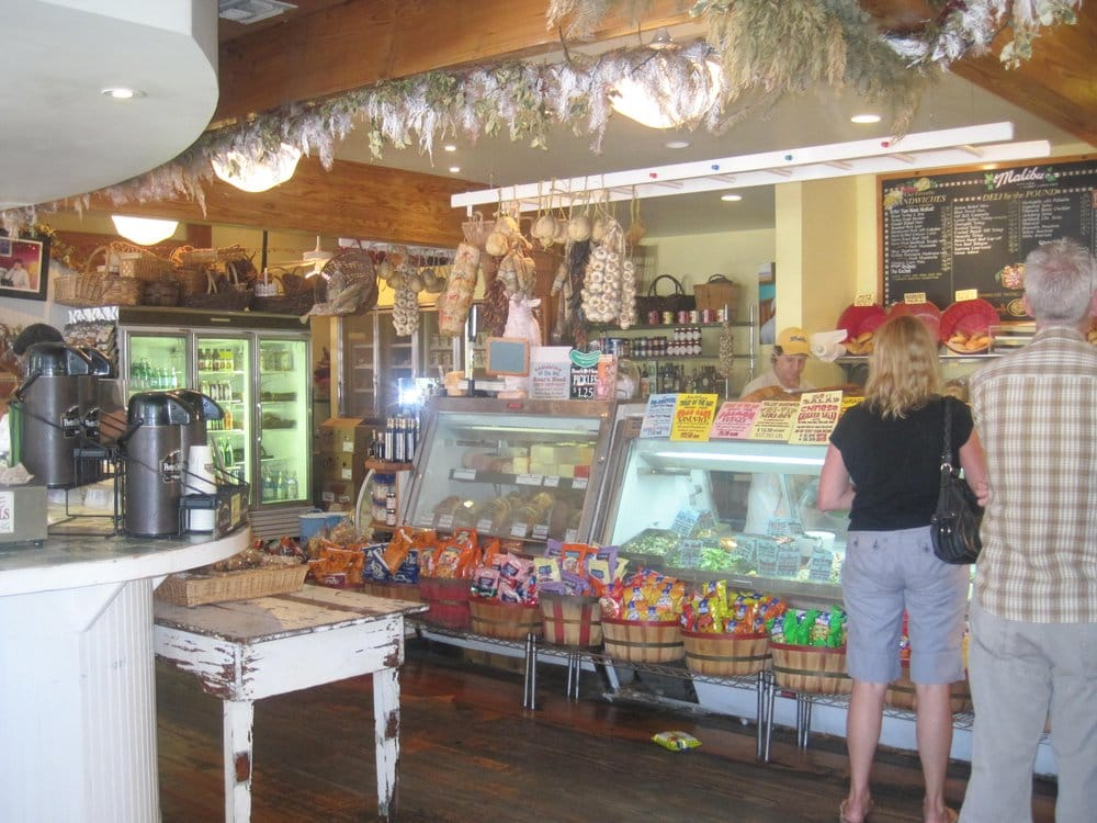 malibu country kitchen inside facing the deli counter yelp 3990