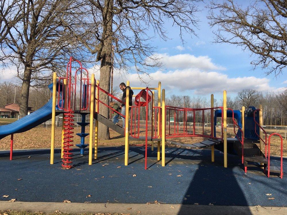 Kewaskum Kiwanis Community Park: 1601 Brooklane Dr, Kewaskum, WI