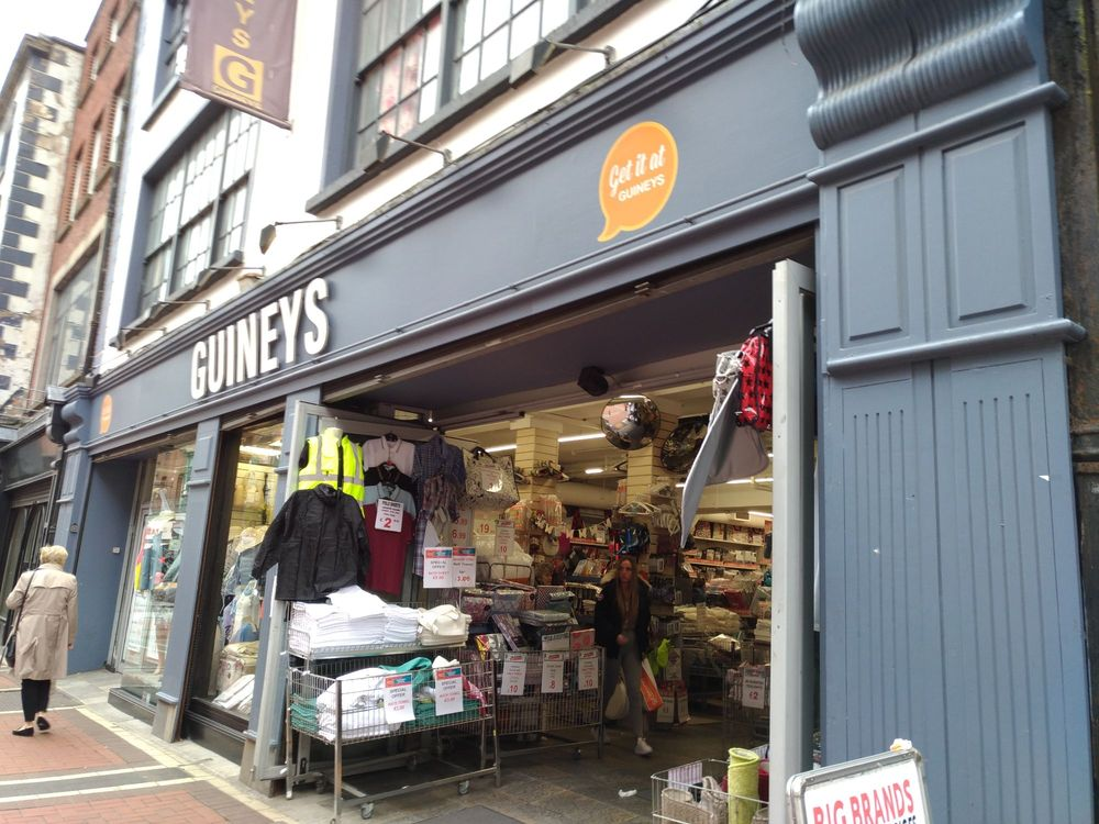 Michael guineys department stores 93 talbot street for Phone number for michaels craft store
