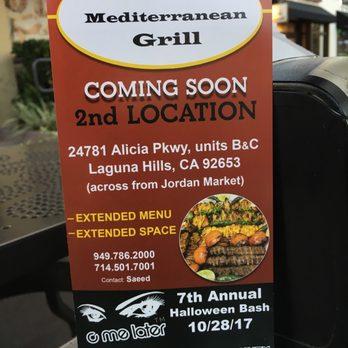 Grill Cafe  Alicia Pkwy Laguna Hills Ca