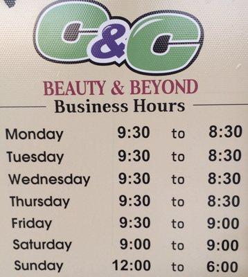 C & C Beauty & Beyond 1825 Rockbridge Rd Stone Mountain, GA