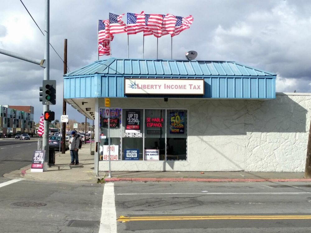 Liberty Tax Service: 16396 E 14th St, San Leandro, CA