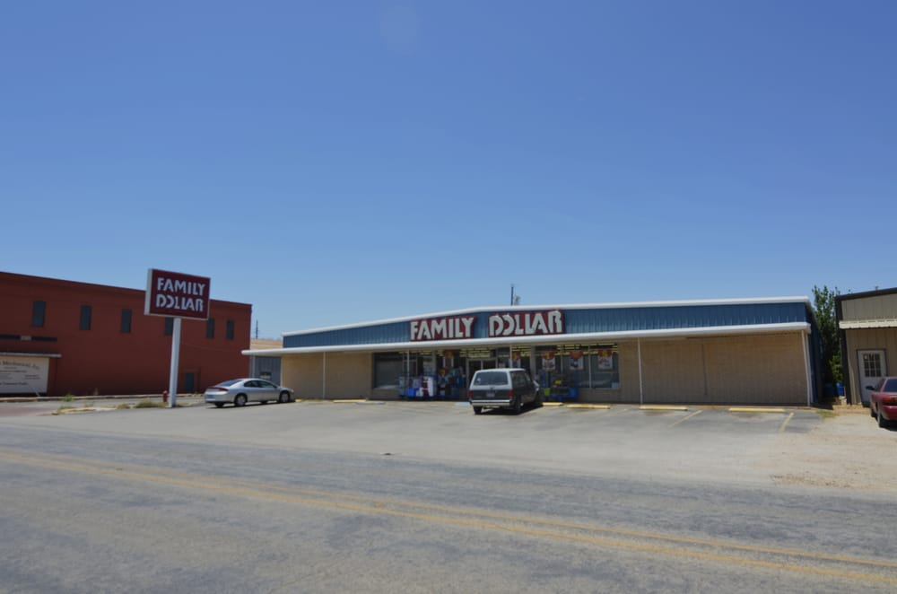 Family Dollar Store: 201 Kent St, Merkel, TX
