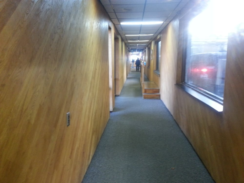 Hallway Inside Can We Please Get Rid Of The Horrible Wood Paneling