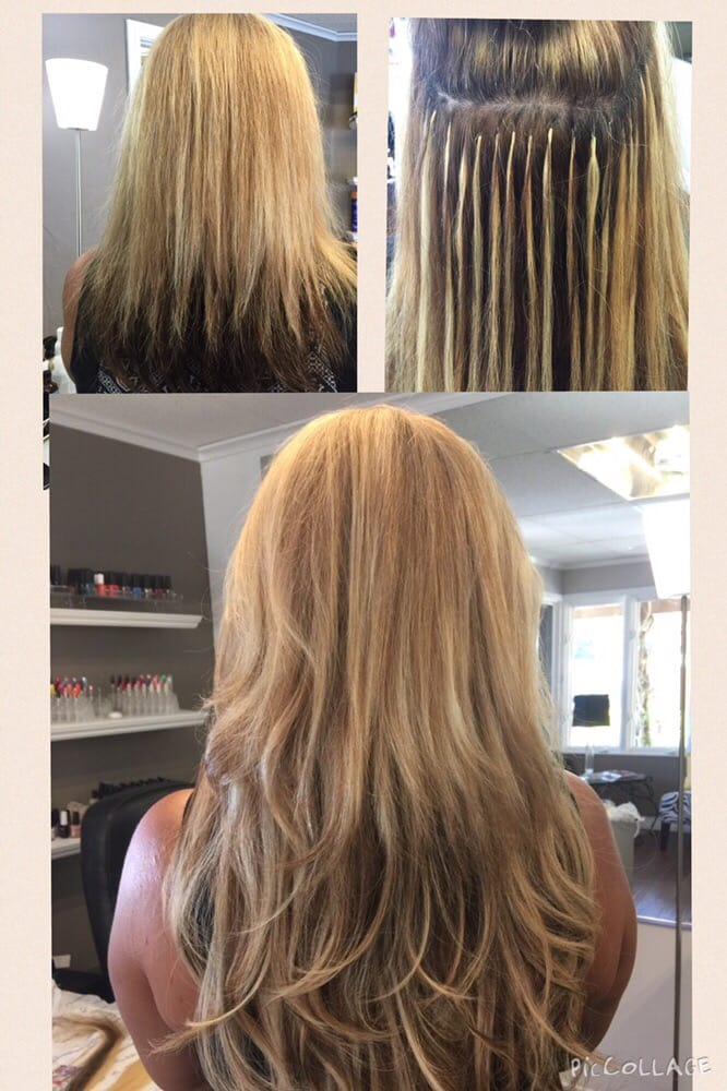 Amys Client With 4bundles Of Greatlengths Hair Extensions Before