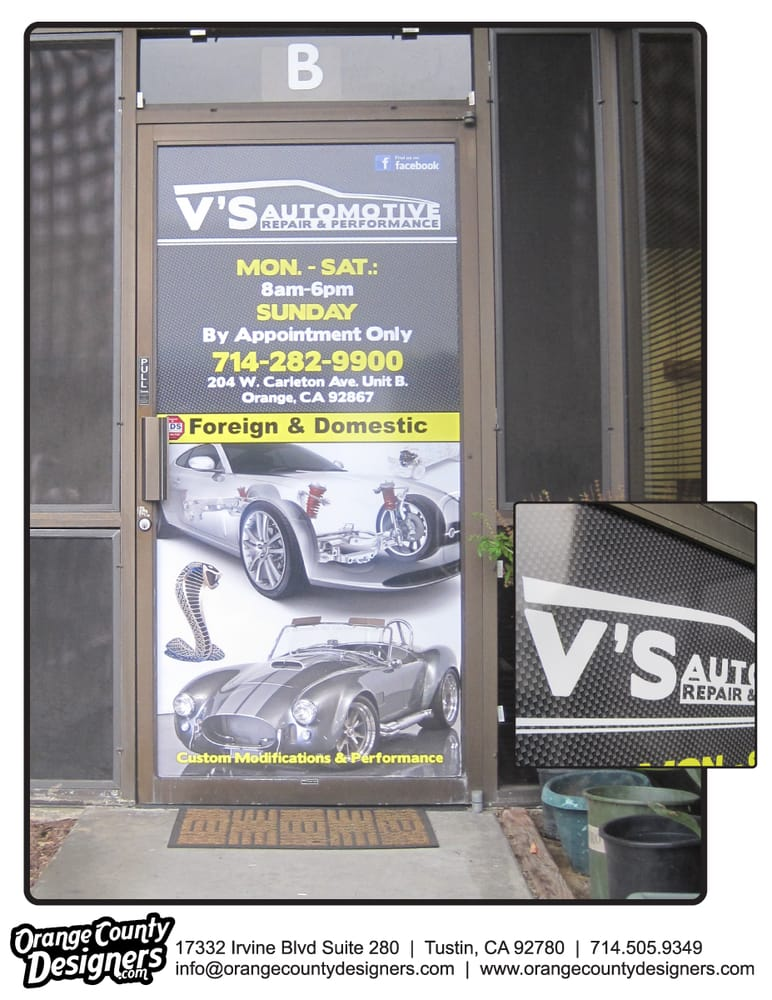 Photo Of Orange County Designers   Tustin, CA, United States. Retail Window  Graphics