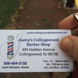 Justins collingswood barber shop 37 reviews barbers 494 photo of justins collingswood barber shop collingswood nj united states business card colourmoves
