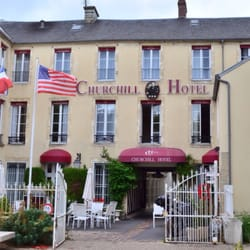 Photo Of Churchill Hôtel Bayeux Calvados France The Hotel In