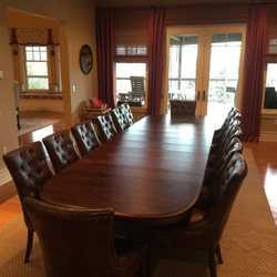 Photo Of Amish Tables   Plymouth, MI, United States. Chancellor Double  Pedestal Extension